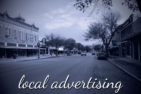 Looking for local advertising?